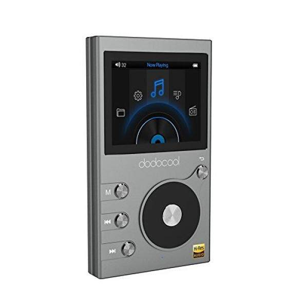 dodocool HiFi Music Player High Resolution 8GB MP3 Player Audio Digital Lossless Sound with Voice Recorder