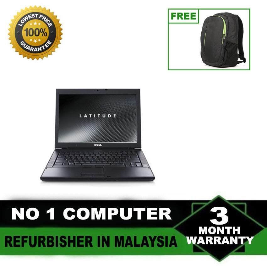 (Refurbished Notebook) Dell Latitude E6400 14 LCD Laptop / Intel Core 2 Duo / 160GB Hard Disk / 2GB Ram / Windows 7 Malaysia