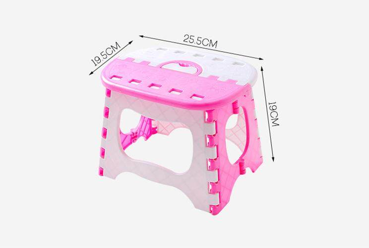 1 pcs Baby Kids Stools Chair Outdoor Portable Plastic Folding Stools