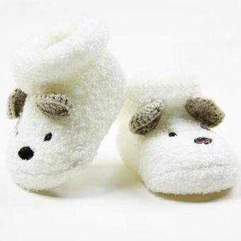 Harga preferensial Fang Fang Kaos Kaki Bayi Baru Lahir Unisex Bayi Bayi  Beruang Yang Indah Sepatu 1b109dc1ce