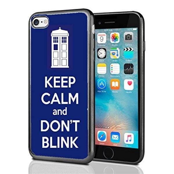 Smartphone Case S TARDIS Tetap Tenang dan Tidak Berkedip untuk iPhone 7 (2016) & iPhone 8 (2017) case Cover Atom Pasar-Intl