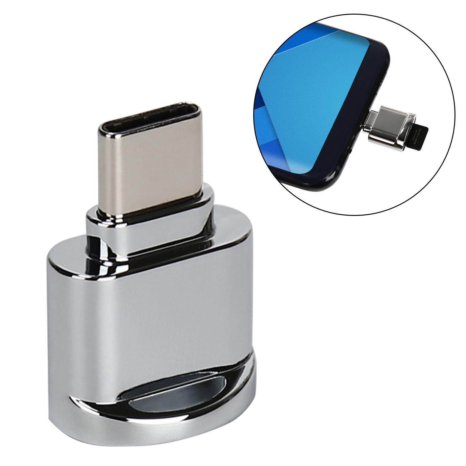 Portable Mini USB 3.1 Type C Micro SD TF Memory Card Reader OTG Adapter with High Speed for Apple MacBook Samsung Galaxy S8 Smart Phone Tablet