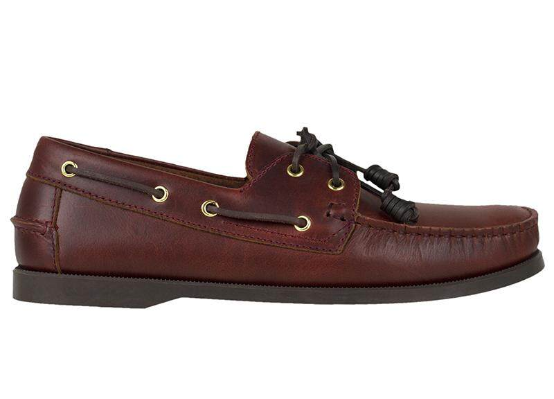 Tomaz C328 Leather Boat Shoes (Coffee)