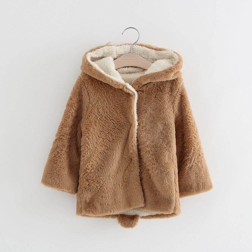 Aihid Store?baby Bayi Wanita Lelaki Tudung Musim Gugur Musim Dingin Coat Cloak Jaket ?