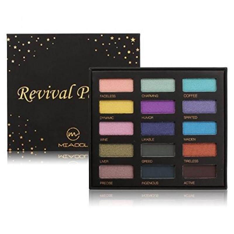Buy Eyeshadow Palette Shimmer Matte Glitter Eye Shadow 15 Colors Eyeshadow MakeUp Palette - intl Singapore