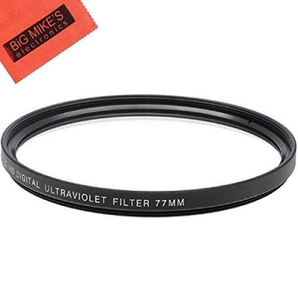 77 Mm Multi Dilapisi UV Filter Pelindung untuk Pilih Canon, Nikon, Olympus, Pentax, Sony, sigma Tamron Kamera Digital, SLR Lensa dan Camcorder + Pembersih Mikrofiber Kain-Intl