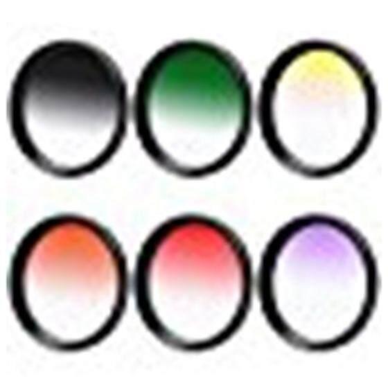 1Set 58mm Gradual Color Filter For Canon EOS 1DX 5D Mark 5D2 5D3 6D 7D 70D 60D 700D 650D 1100D 1000D