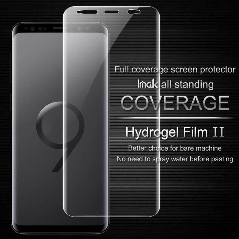 Imak S Samsung S9 Plus Pelindung Layar Perlindungan Menyeluruh Hydrogel II Film Pelindung untuk Samsung Galaxy S9 Plus Tidak Kaca-Internasional