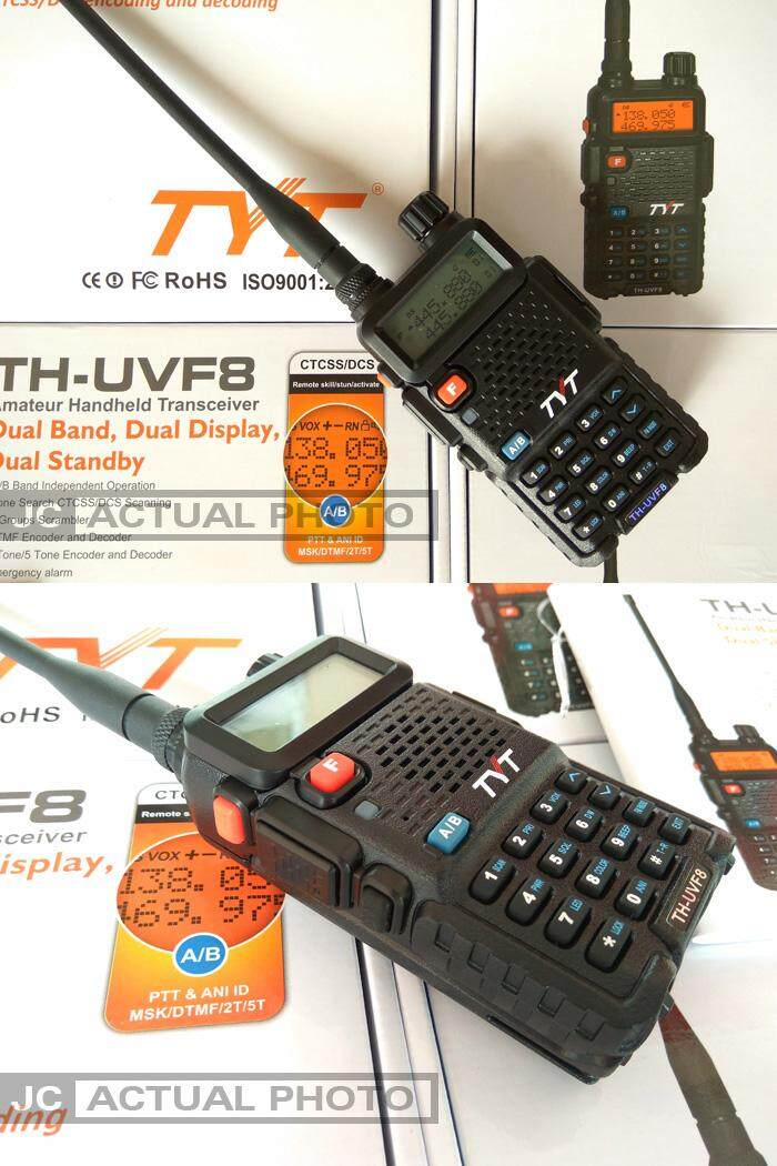 TYT TH-UVF8 UVF8 UV Dual Band Walkie Talkie Two Way Radio 100% ORIGINAL