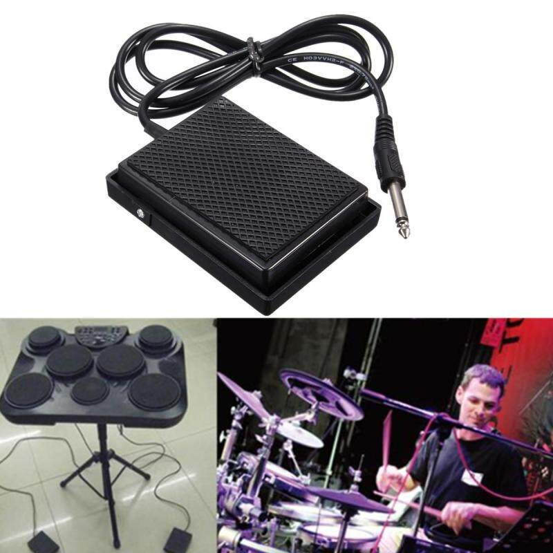 Universal Foot Sustain Pedal Controller Switch for Electronic Keyboard Drum Tone Malaysia