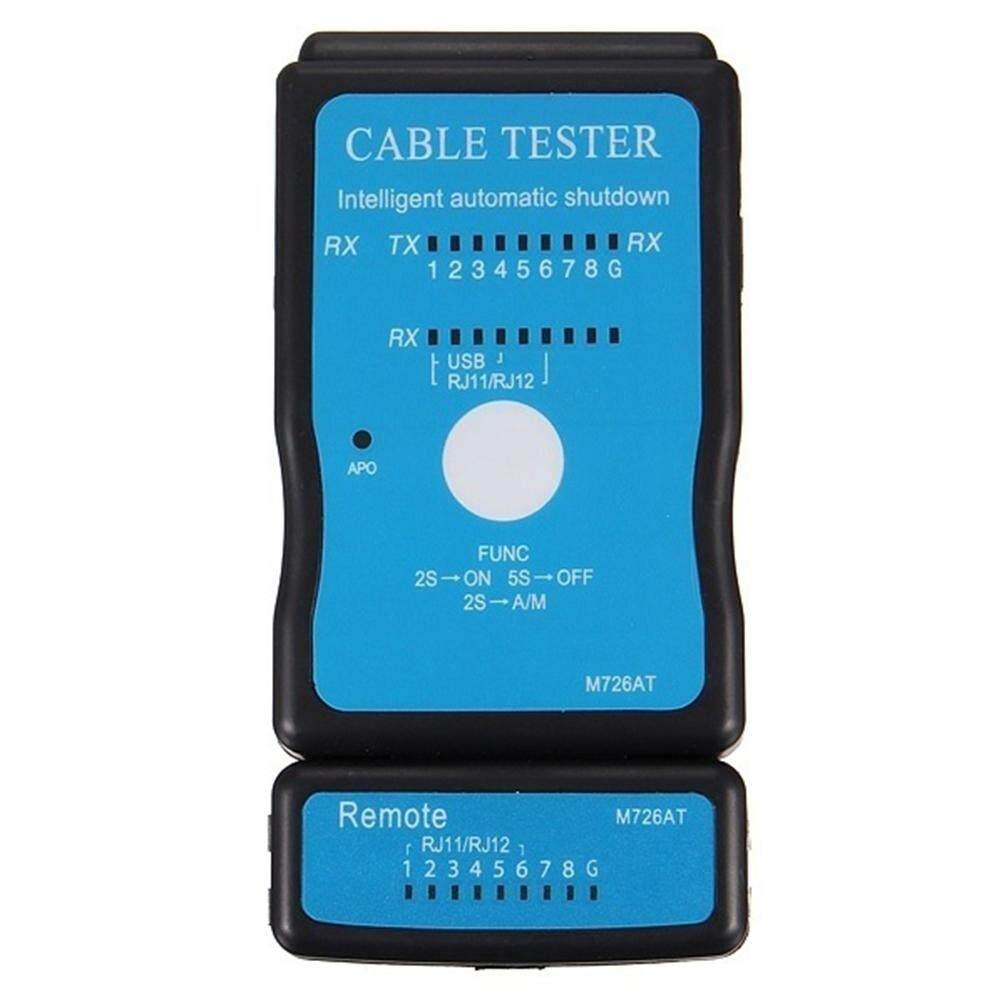 Rj45 Rj11 Pemindai Otomatis Nonaktif Otomatis Tester Kabel Dengan Indikator Led Portable By Twinkle2017.