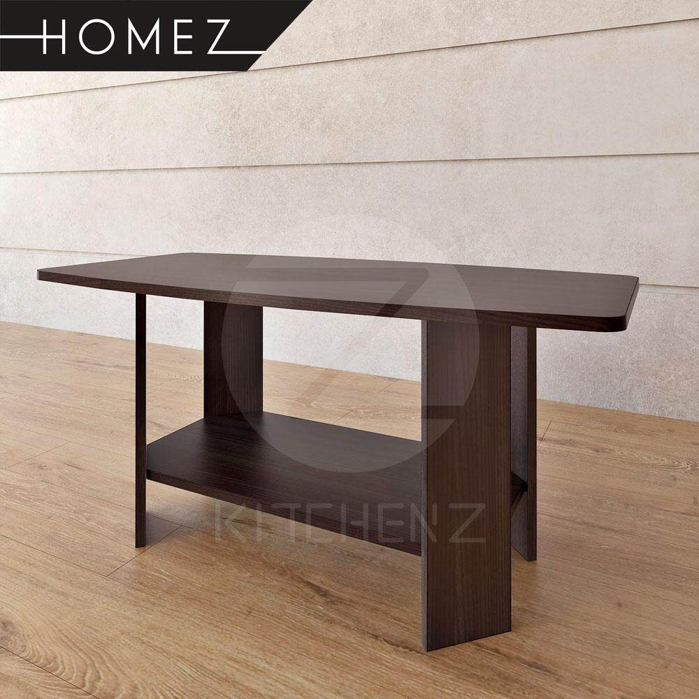 Homez Coffee Table HMZ-CT-DT-5003 Solid Board with Shelf - 3 ft