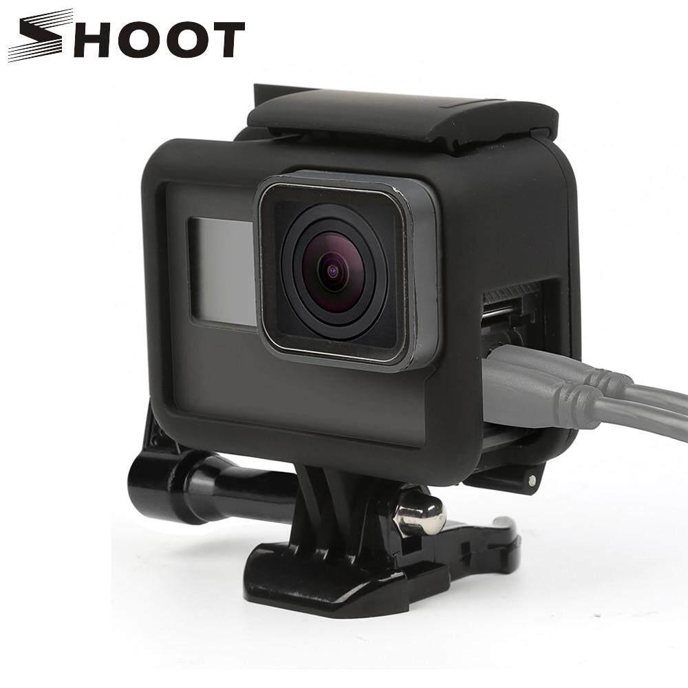 SHOOT Side Open Protective Border frame Case for GoPro HERO 7 6 5 Black Sports Cam