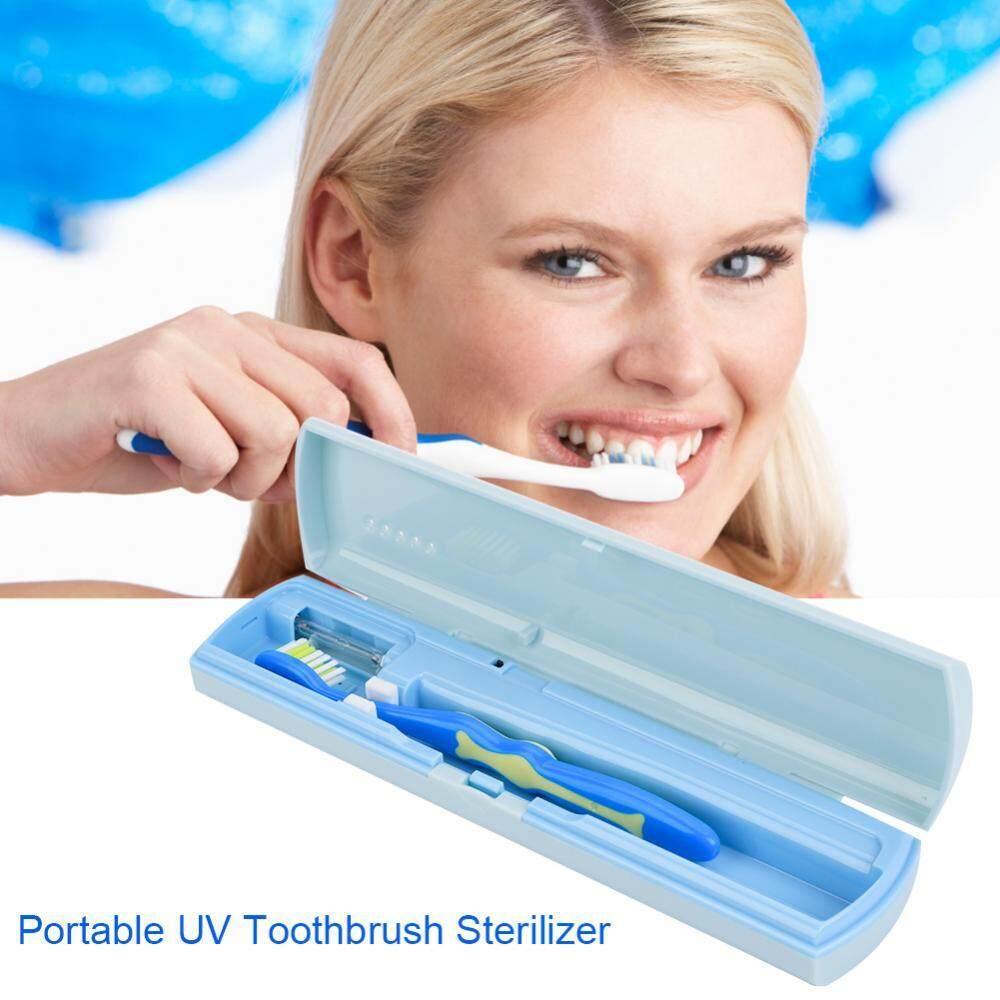 USB/Pengisian Baterai Antibacteria UV Light Portable Sterilisasi Sikat Gigi Bersih-Internasional