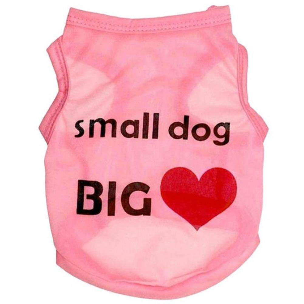 แฟชั่นฤดูร้อนฝ้ายโพลีเอสเตอร์เสื้อน่ารักเสื้อผ้าสุนัขขนาดเล็ก By Youyistory.