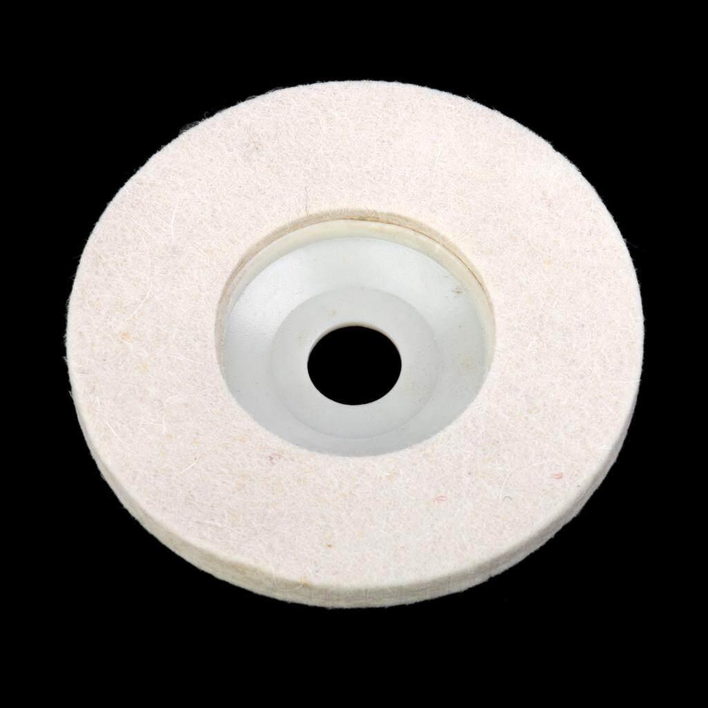 Hình ảnh MagiDeal 4 inch Wool Polishing Polishers Clean Buffing Pad Bonnet for Furniture/Car