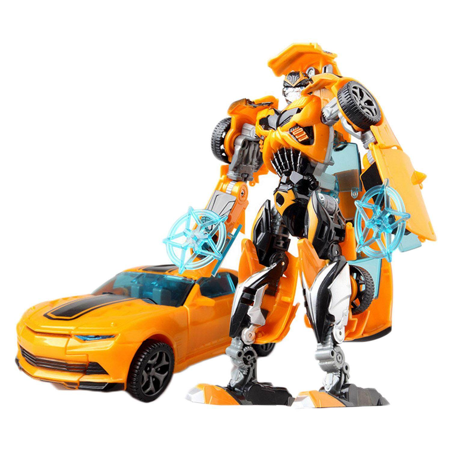Transformers Robot Toys Transformable Car People Toy For Child Children Kids Early Education Bumblebee - Intl By Stoneky.