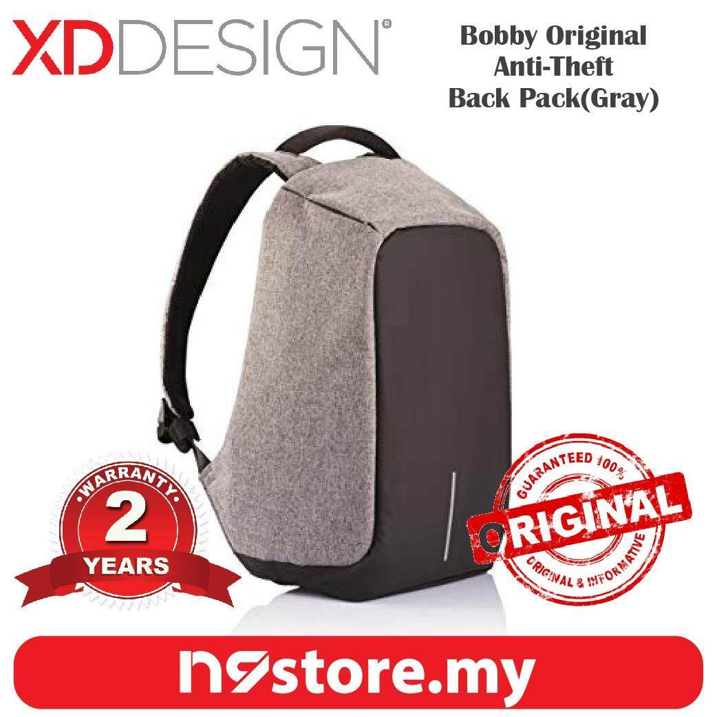 XD Design Bobby Original Gray Anti-Theft Cutproof Backpack