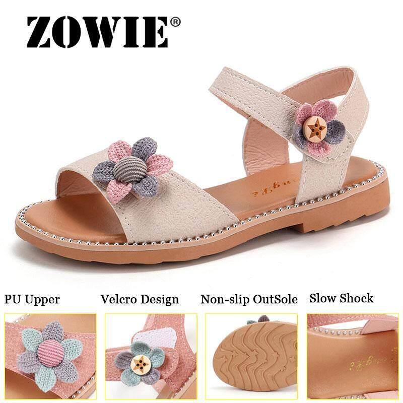 Zowie Anak Perempuan Sandal Gadis Musim Panas Baru Titik Busur Anak Sepatu untuk Anak Perempuan Fashion