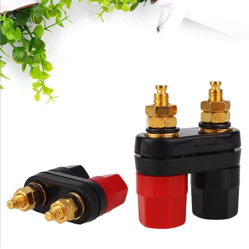 ... Kurry store free shipping Speaker 4mm Terminal Binding Post Dual 2 Way Banana Plug Jack Connector