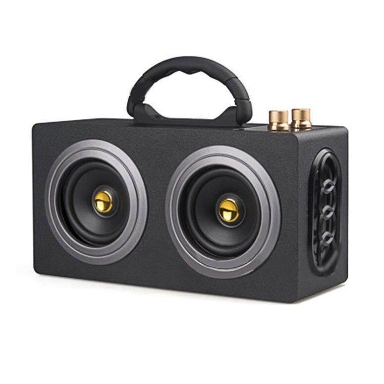 Lifef Bergaya M8 Stereo Nirkabel Bluetooth Mobil Berdaya Tinggi Ganda Pengeras Suara