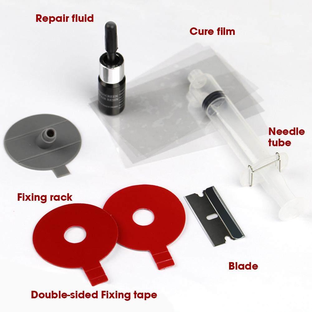 Diy Kaca Depan Mobil Alat Perbaikan Kaca Kaca Depan Kit Perbaikan Untuk Red Heart Bintang Retak Atau Kombinasi Retak Spesifikasi: 1 Set By Hhhappy Store.