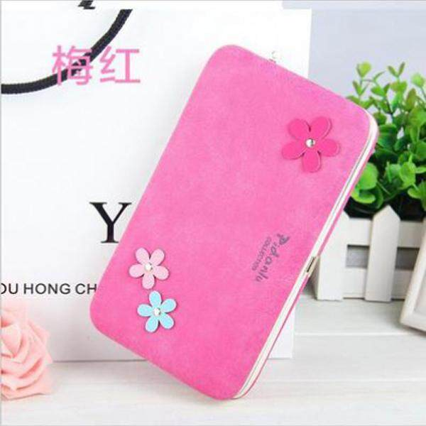 Flower Pidanlu Creative Pencil Box Style Lady Wallet Purse Multi Purpose New