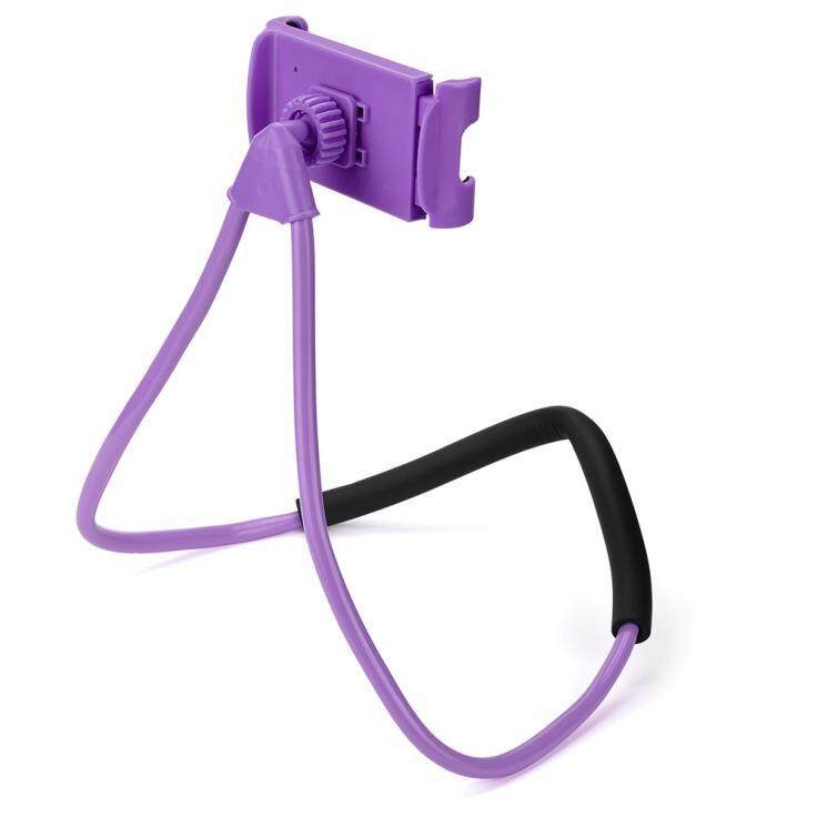 Detail Gambar Universal Lazy Hanging Neck Phone Stand Mount Necklace Support Bracket Holder - intl Terbaru