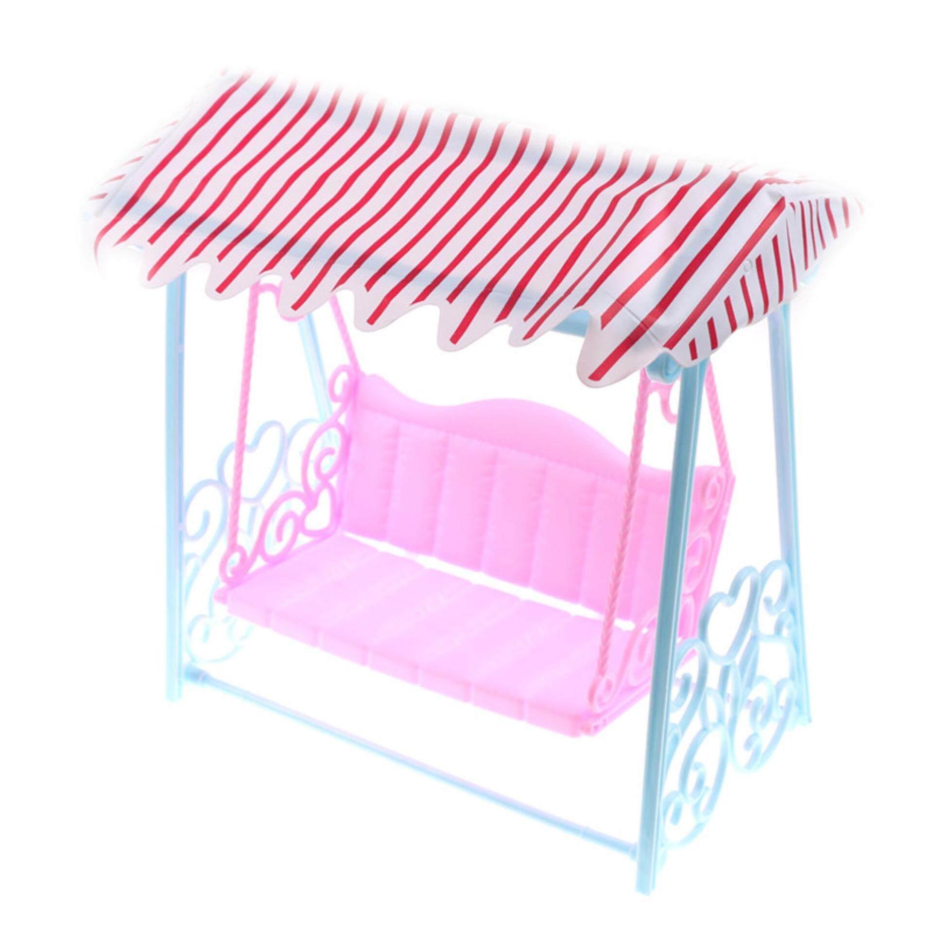 Detail Gambar Doll Toy Garden Swing Set For Barbie FR Kurhn Doll Play House  Accessories   Intl Terbaru