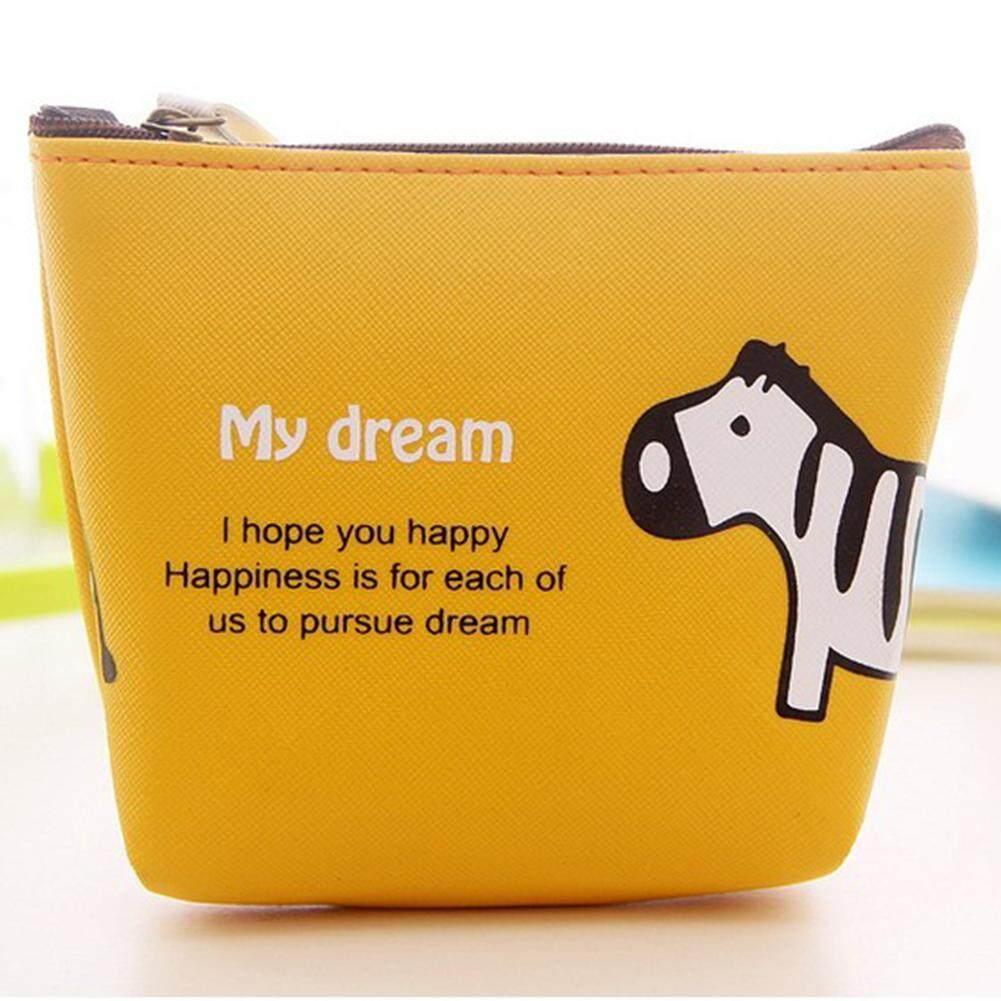 หนัง Pu, น่ารักกระเป๋าใส่เหรียญ, กระเป๋ากระเป๋าสตางค์ By Gethome12.