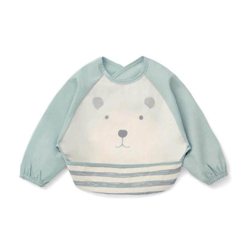 Baby Bib Set Newborn Boys Girls Saliva Towel Feeding Cloth 2pcs Cute Cartoon Cat Cotton Hat Mother & Kids