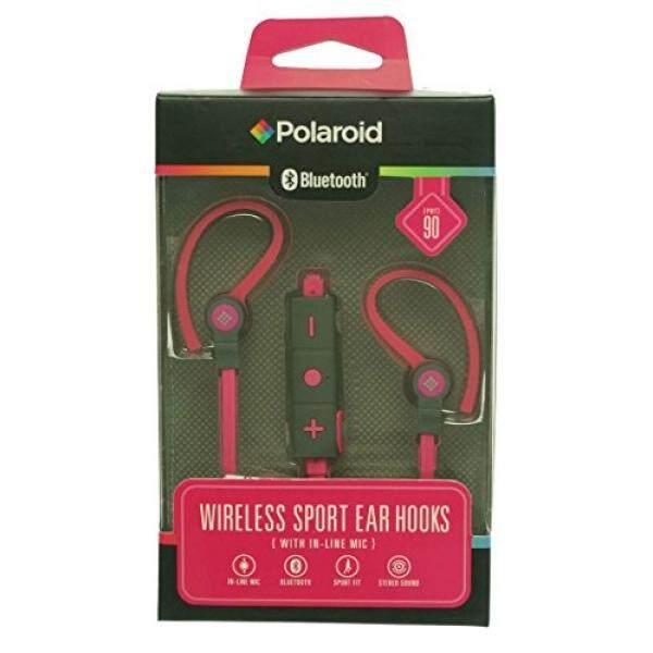 Polaroid Bluetooth Earbud Nirkabel Headphone Pink O/S/dari Amerika Serikat
