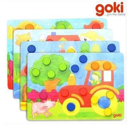 Goki Coloured Board baby toys