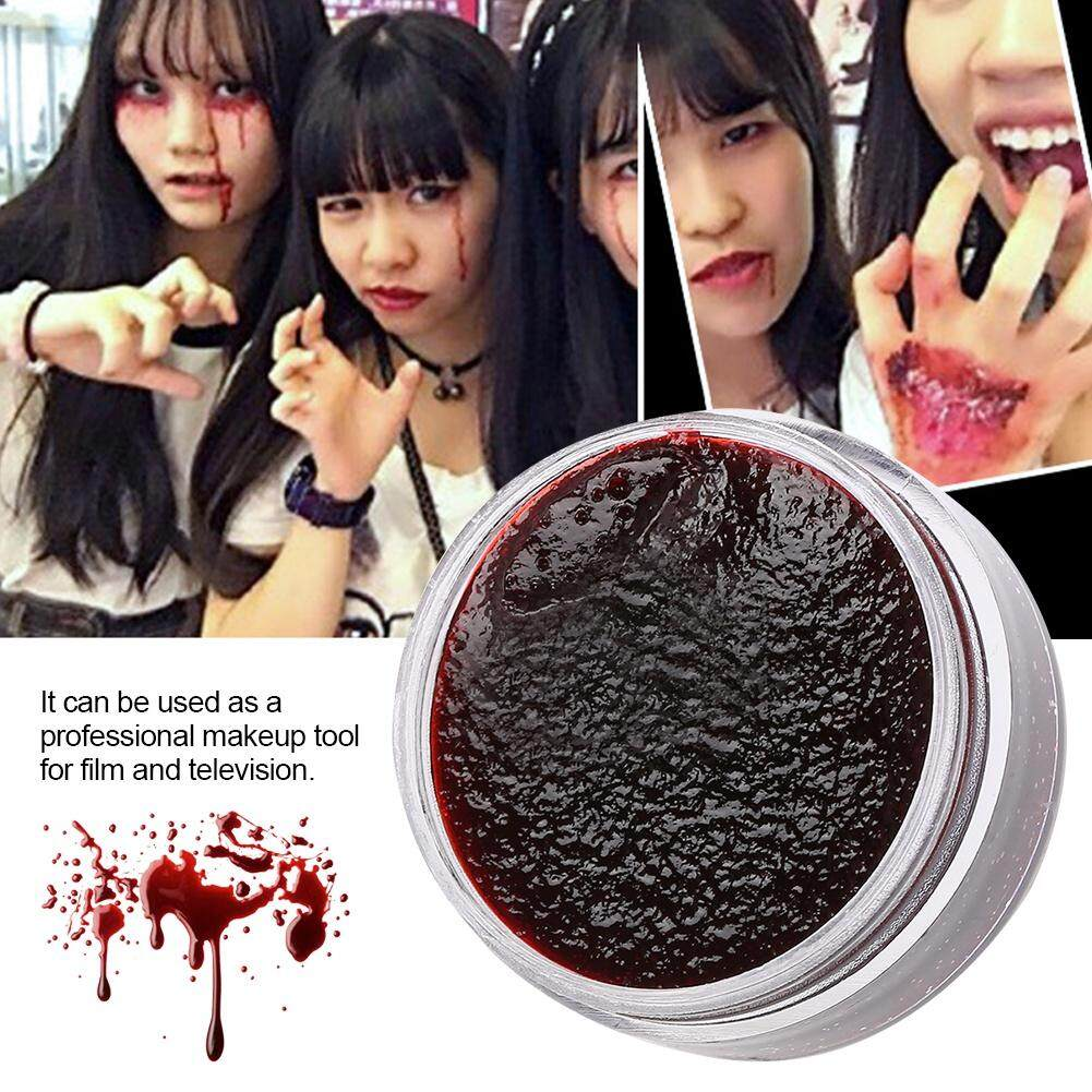 Professional Face Body Paint Oil Fake Clot Blood Gel Vampire Scars Halloween Bruises 15ml Philippines