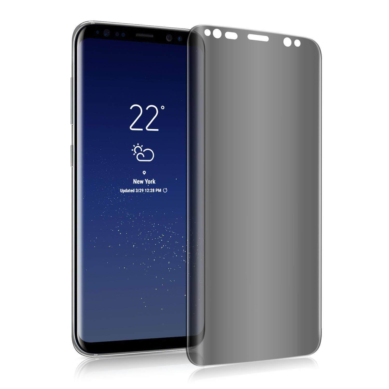 Harga Spesial! cocok untuk Galaxy Note 8 Pelindung Layar, note 8 Privasi Kaca Anti Gores Anti-Spy [3D Melengkung] [Case Ramah] [Kekerasan 9 H] Pelindung Layar Pelindung untuk Samsung Galaxy note 8 (Transparan