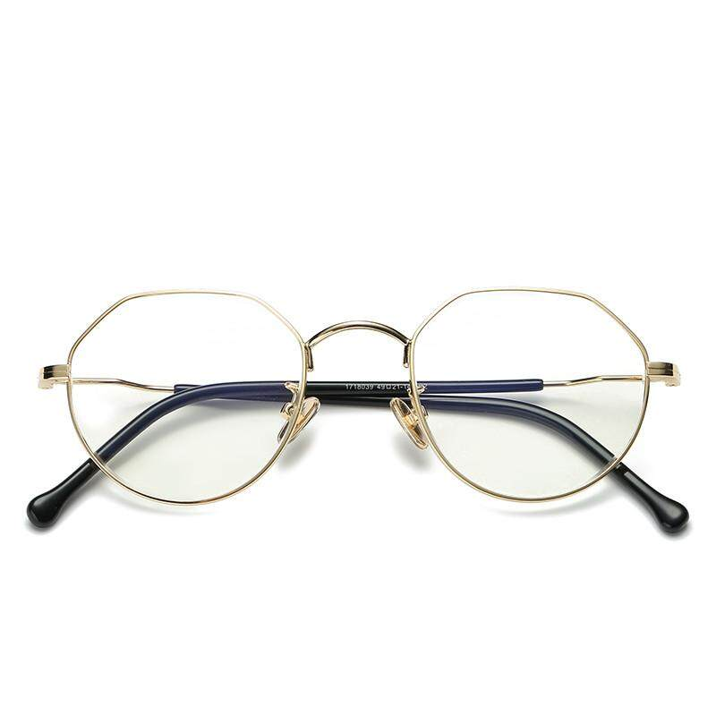 Rabun dekat mata Frame kacamata wanita Gaya Korea pasang Sederhana dan  Elegan rabun dekat Logam Sangat 88d0f6268e