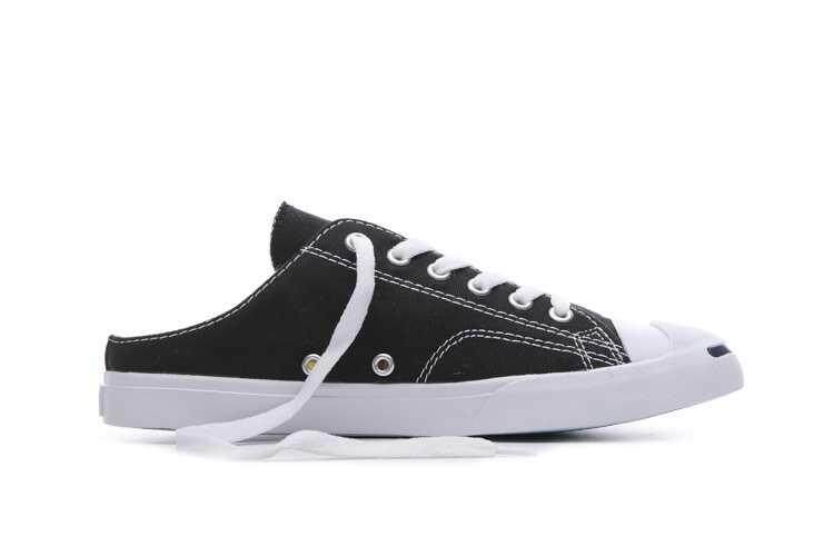 Discount! Discount! High Quality Classic Unisex Convers Jack Purcell II Low Top Women's and Men's Sneakers Canvas Casual Shoes Color: Black - intl