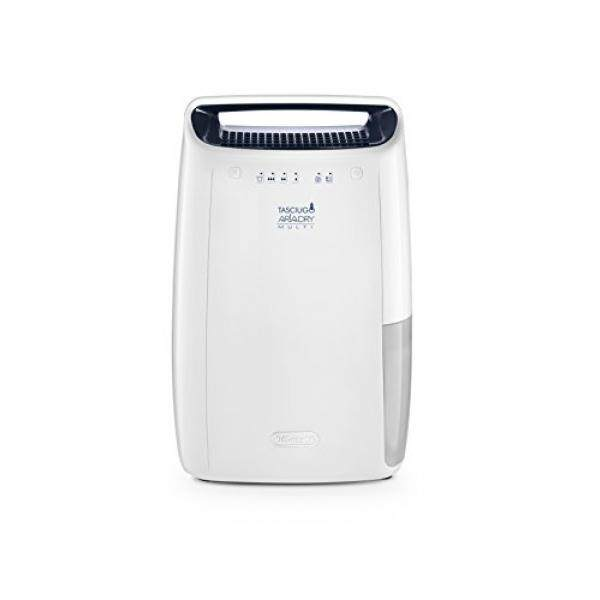 Delonghi DEX16F Compact 15 pint Dehumidifier with Air Filtration & Aafa Certification Dehumidifier, White - intl Singapore