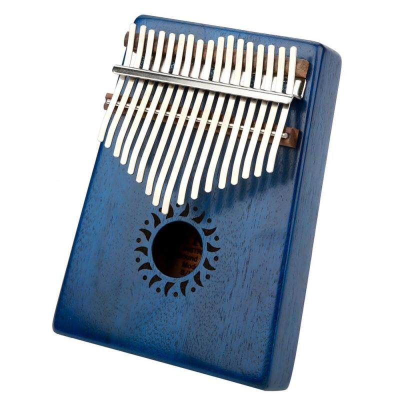 Portable Wooden Kalimba Thumb Finger Piano 17Key Decoration Instrument Toy Malaysia