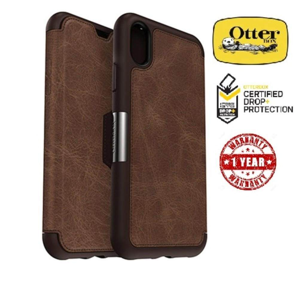 huge discount 1392f 4ea33 OtterBox Symmetry Series Leather Folio Case for Apple iPhone XR ( 1 ...