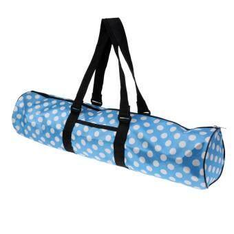 การตรวจสอบของ Miracle Shining Waterproof Yoga Mat Carrier Bags Adjustable Strap Yoga Sports Backpack Pouch ซื้อ - มีเพียง ฿126.48