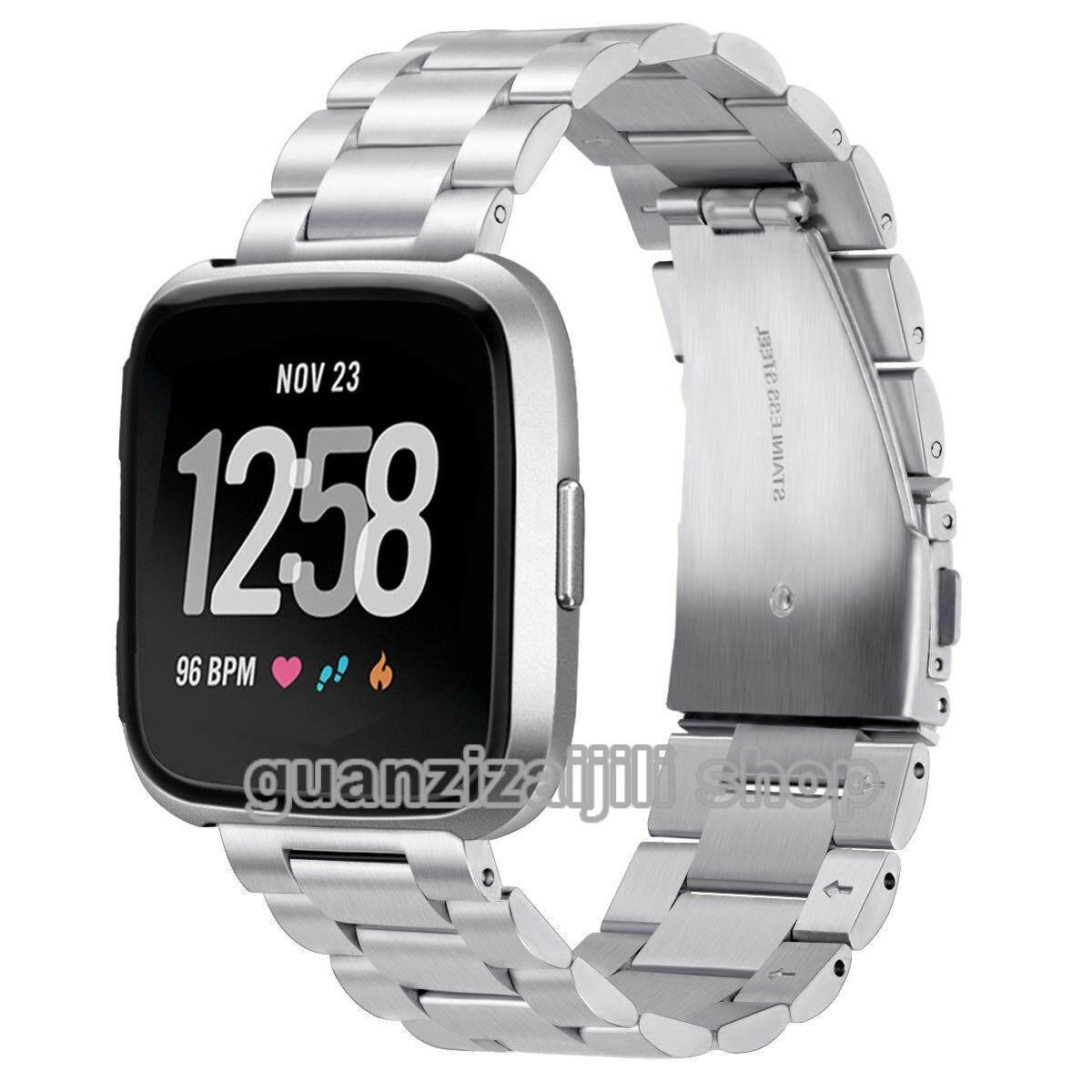 Baja Anti Karat Gelang Jam Tali untuk Fitbit Sebaliknya Smartwatch