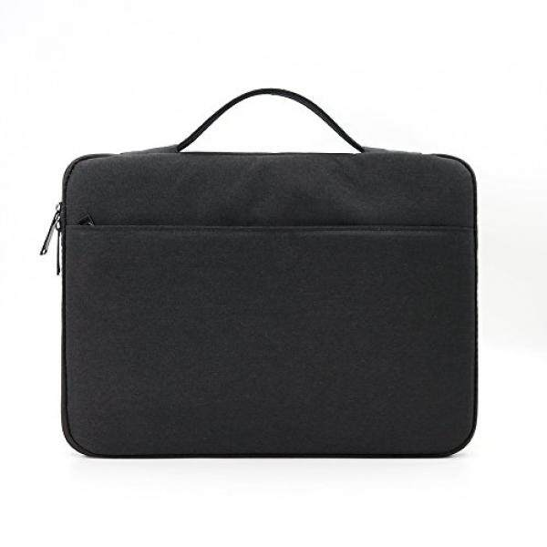 Laptop Sleeves BORUI 14 - 15.4 Inch Laptop Sleeve Briefcase Computer Case Carrying Bag Cover Handbag for 15.4 MacBook Pro Retina TouchBar, 14 Dell Asus HP Acer ThinkPad Lenovo Notebook Ultralbook Chromebook - intl