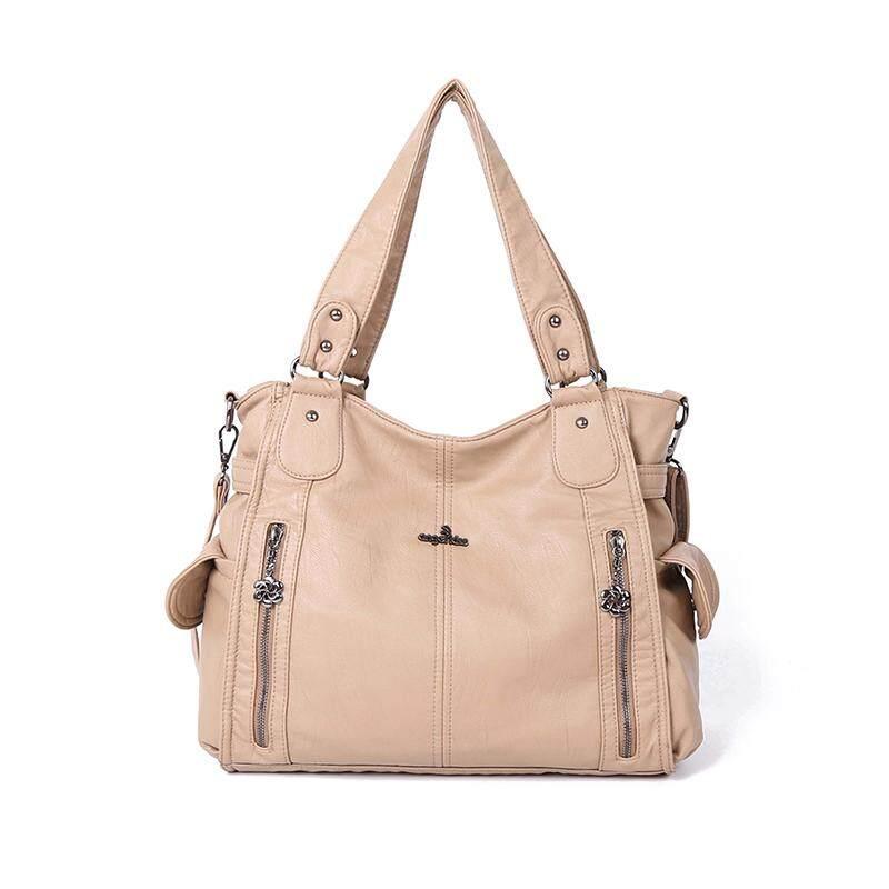 Bag female 2018 new slung shoulder bag ladies fashion handbag large capacity autumn and winter new handbags