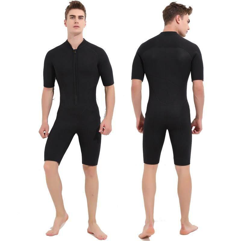 d6e6faa77c SBART 3MM One-Piece Short Sleeve Wetsuit Neoprene Women Men Scuba  Spearfishing Keep Warm Scuba