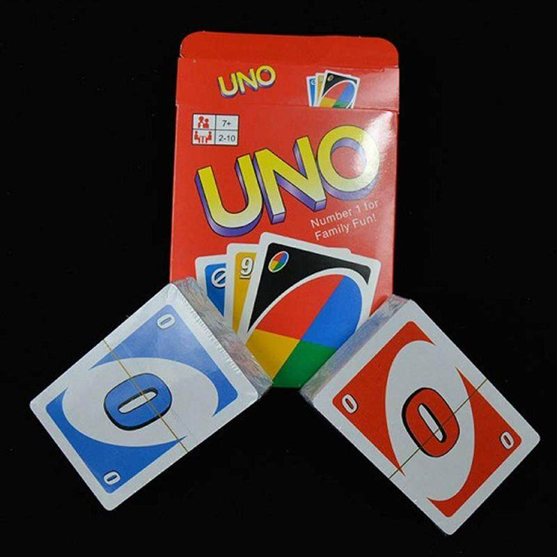 Detail Gambar Family Entertainment Board Game UNO Fun Poker Playing Cards Puzzle Games Style:Standard