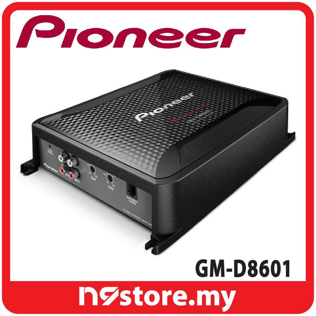 Pioneer GM-D8601 Class D Mono Amplifier Bass Boost