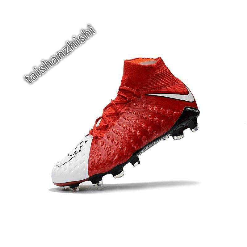 279db3146656 High Ankle Football Boots Hypervenom Flare Football Shoes Adulto Men s Soccer  Shoes Original Futebol Training Sneakers