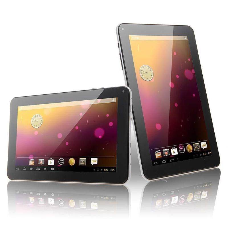 Limited-Time Sale 9 TABLET PC ANDROID4.4 4CORE 1GB+16GB 1.2GHZ HD US PLUG WIFI OTG G-SENSOR GIFT