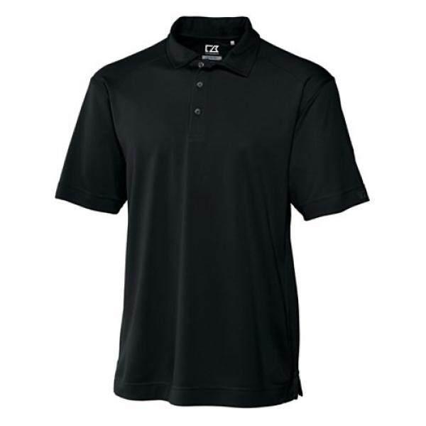 Cutter & Buck Mens Big-Tall Cb Drytec Genre Polo Shirt, Black, 2XT - intl